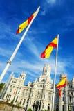 Palazzo de cibeles, Madrid Royalty Free Stock Image