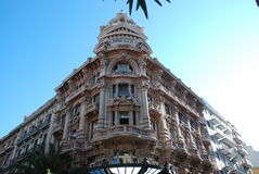 Palazzo de Minuzzi em Bari fotografia de stock royalty free