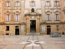 Palazzo de Vilhena (museu da história natural) Fotografia de Stock Royalty Free