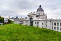 Palazzo degli agricoltori a Kazan La Russia Fotografie Stock Libere da Diritti