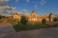Palazzo degli agricoltori - Ministero dell'ambiente e dell'agricoltura Quadrato del palazzo a Kazan, Repubblica di Tatarstan, Rus Immagini Stock Libere da Diritti