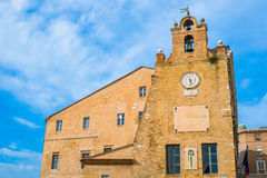 Palazzo degli Anziani 免版税库存照片
