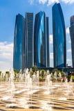Palazzo degli emirati, Abu Dhabi, Emirati Arabi Uniti Fotografia Stock