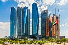 Palazzo degli emirati, Abu Dhabi, Emirati Arabi Uniti Fotografia Stock Libera da Diritti