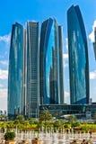 Palazzo degli emirati, Abu Dhabi, Emirati Arabi Uniti Immagine Stock Libera da Diritti