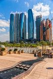 Palazzo degli emirati, Abu Dhabi, Emirati Arabi Uniti Immagini Stock Libere da Diritti