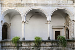 The Palazzo dei Capitani del Popolo Stock Photo