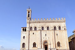 Palazzo dei Consoli Royaltyfria Bilder