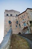 Palazzo dei Consoli Royaltyfri Fotografi