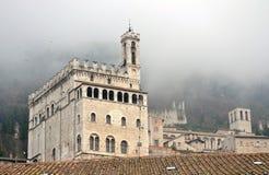 Palazzo-dei Consoli in Gubbio Lizenzfreie Stockfotos