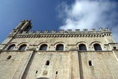 Palazzo dei Consoli, Gubbio Stock Image