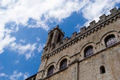 Palazzo dei Consoli, Gubbio Stock Images