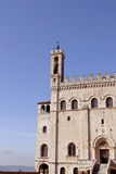 Palazzo dei Consoli - Gubbio Royaltyfria Foton