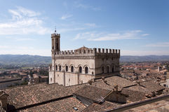Palazzo dei Consoli in Gubbio Royalty Free Stock Images