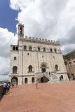 Palazzo dei Consoli Royalty Free Stock Photo
