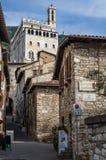 Palazzo dei Consoli in Gubbio Stock Photography