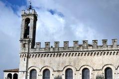 Palazzo dei Consoli i Gubbio Royaltyfri Bild