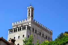 Palazzo dei Consoli - Italy Royalty Free Stock Photo