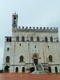 Palazzo dei Consoli Stock Photo
