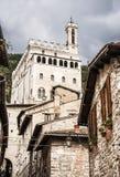 Palazzo dei Consoli Royalty Free Stock Photography