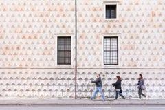 Palazzo dei Diamanti 免版税库存照片