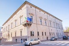 Palazzo-dei Diamanti Stockfotos