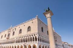 Palazzo dei doge sul quadrato di St Mark, Venezia, Italia, Europa Fotografie Stock