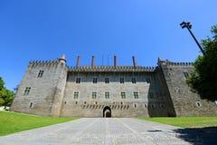 Palazzo dei duchi di Braganza, Guimarães, Portogallo fotografia stock
