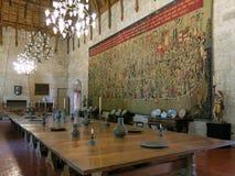 Palazzo dei duchi di Braganza a Guimaraes immagine stock