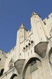 Palazzo dei papi a Avignon Fotografie Stock