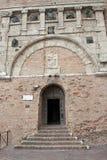 Palazzo dei Priori在佩鲁贾 库存图片