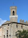 Palazzo dei Priori in Volterra. View of Palazzo dei Priori in Volterra, Tuscany Italy Royalty Free Stock Photos