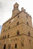 Palazzo dei Priori in Volterra (Italy) Stock Photography