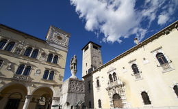 贝卢诺,意大利 库存图片