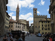 Palazzo del Bargello in Florence Royalty Free Stock Images