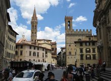 Palazzo del Bargello in Florence Royalty Free Stock Photography