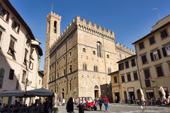 Palazzo del Bargello in Florence, Italy. Royalty Free Stock Images