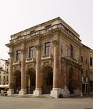 Palazzo del Capitaniato在威岑扎,意大利 库存图片