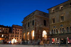 The palazzo del Capitaniato stock photo