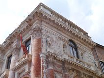 The palazzo del Capitaniato in Vicenza Royalty Free Stock Photography