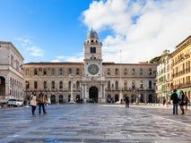 Palazzo del Capitanio on Piazza dei Signori Stock Image