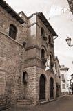 Palazzo del capitano della gente. Corciano. L'Umbria. Fotografia Stock Libera da Diritti