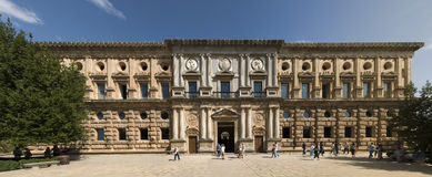 Palazzo del Carlos V Fotografia Stock