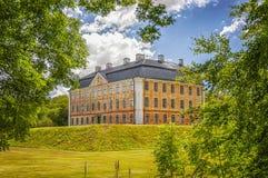 Palazzo del castello di Christinehofs fotografia stock