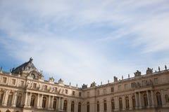 Palazzo del castello di Versailles Fotografia Stock Libera da Diritti