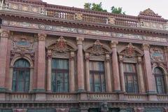 Palazzo del conteggio Tolstoy o la Camera degli scienziati a Odessa Fotografia Stock Libera da Diritti