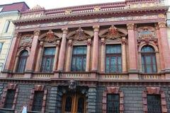 Palazzo del conteggio Tolstoy o la Camera degli scienziati a Odessa Fotografie Stock Libere da Diritti