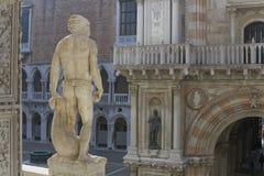Palazzo del Doge di Venezia immagini stock libere da diritti