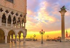 Palazzo del doge, Venezia, Italia fotografia stock libera da diritti