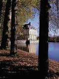 Palazzo del fontainebleu Parigi Francia fotografia stock libera da diritti